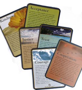 The Virtues cards